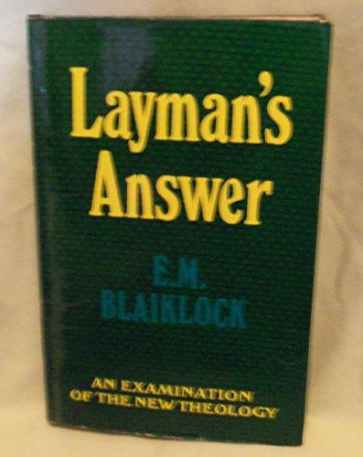 9780340109915: Layman's Answer