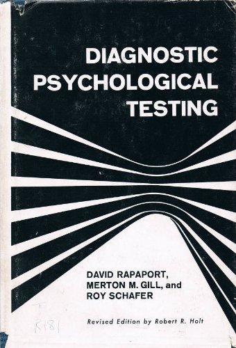 9780340117514: Diagnostic Psychological Testing