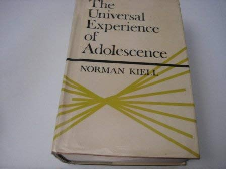 9780340118009: Universal Experience of Adolescence