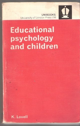 9780340118511: Educational Psychology and Children