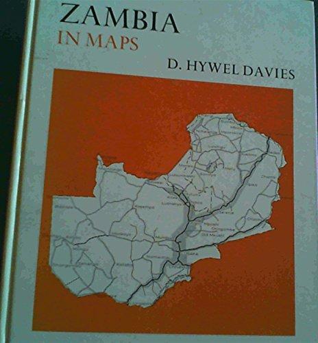 9780340118801: Zambia in Maps