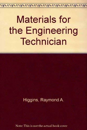 9780340123843: Materials for the Engineering Technician