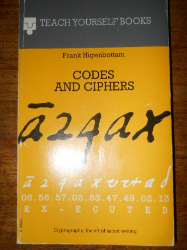 9780340124932: Codes and Ciphers (Teach Yourself)
