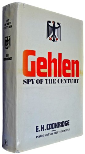 9780340126417: Gehlen: Spy of the Century