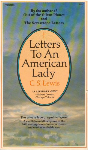 9780340128824: Letters to an American lady
