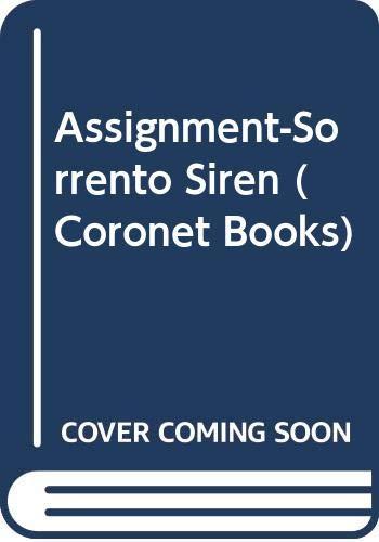 Assignment-Sorrento Siren (Coronet Books): Aarons, Edward S.