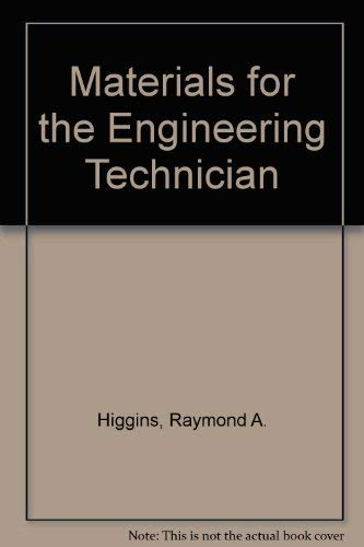 9780340152720: Materials for the Engineering Technician