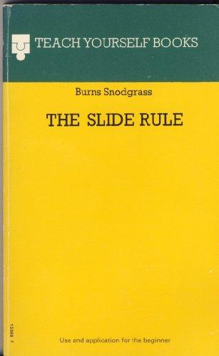 9780340153680: Slide Rule (Teach Yourself)