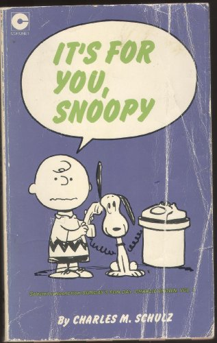 9780340158296: 'IT'S FOR YOU, SNOOPY (CORONET BOOKS)'