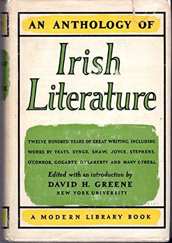 9780340161142: An Anthology of Irish Literature