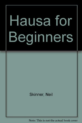 9780340161470: Hausa for Beginners