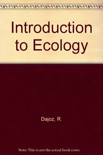 9780340162545: Introduction to Ecology