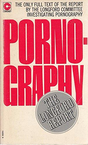 Pornography: The Longford Report: Frank Pakenham Earl