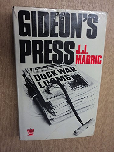9780340164884: Gideon's Press ([King crime])