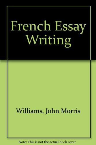 9780340165126: French Essay Writing