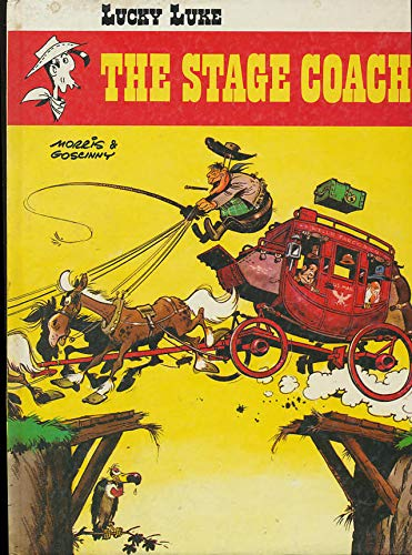 Lucky Luke Series- Set of 3 Hardcover Graphic Novels: The Stage Coach, Jesse James, Dalton City: ...