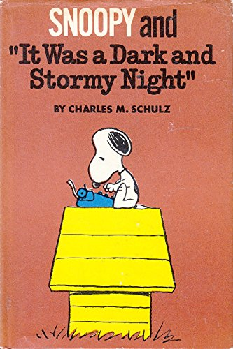9780340165942: Snoopy and 'It was a dark and stormy night'