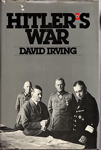Hitler's War: Irving, David