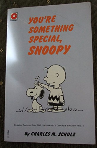 9780340173220: 'YOU'RE SOMETHING SPECIAL, SNOOPY (CORONET BOOKS)'
