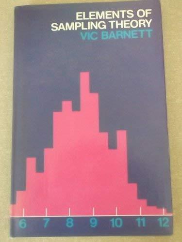 Elements of Sampling Theory: Barnett, Vic