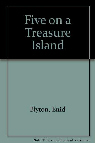 9780340174920: Five on a Treasure Island