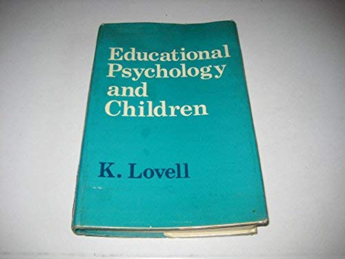 9780340176740: Educational Psychology and Children