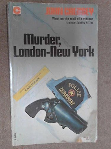 Murder, London-New York (0340178469) by John Creasey