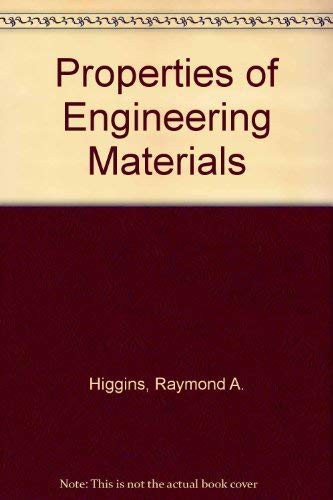 9780340179086: Properties of Engineering Materials