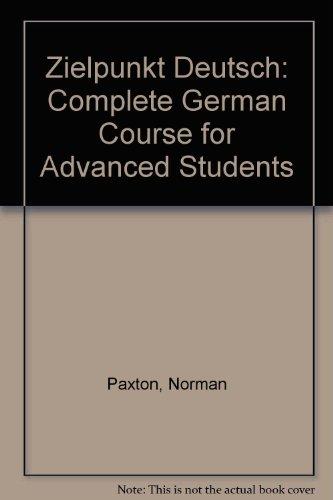 9780340181874: Zielpunkt Deutsch: Complete German Course for Advanced Students
