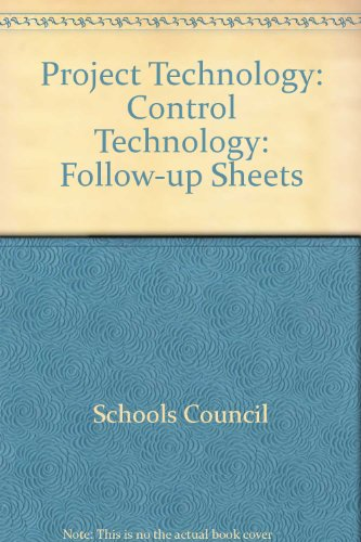 9780340182451: Project Technology: Control Technology: Follow-up Sheets