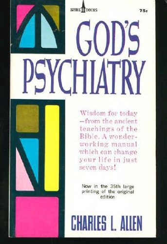 9780340183779: God's Psychiatry: The Twenty-Third Psalm; The Ten Commandments; The Lord's Prayer; The Beatitudes