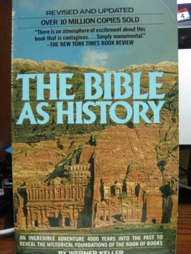 9780340190456: Bible as History