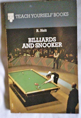 9780340190821: Billiards and Snooker (Teach Yourself)