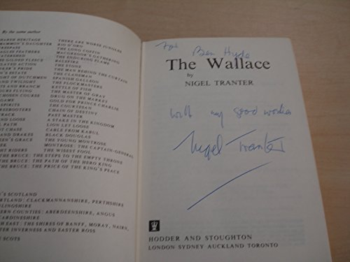 The Wallace (0340191295) by Nigel Tranter