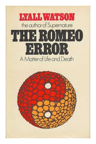 9780340191361: Romeo Error: Matter of Life and Death