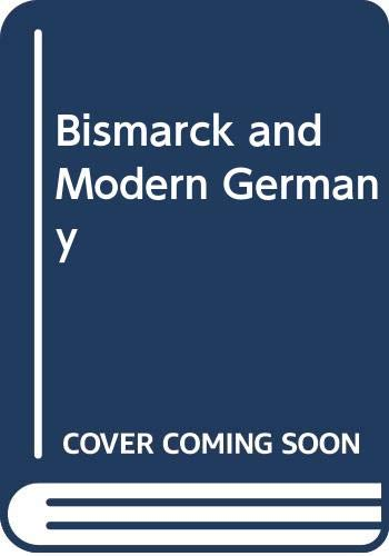 9780340192542: Bismarck and Modern Germany