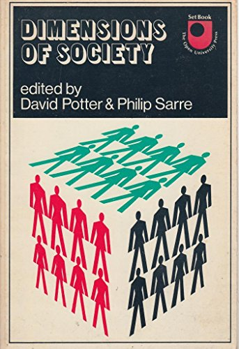9780340193693: Dimensions of Society: A Reader