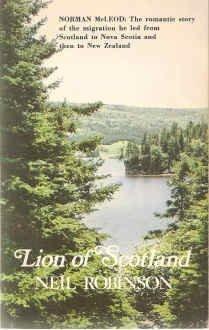 Lion of Scotland: Robinson, Neil