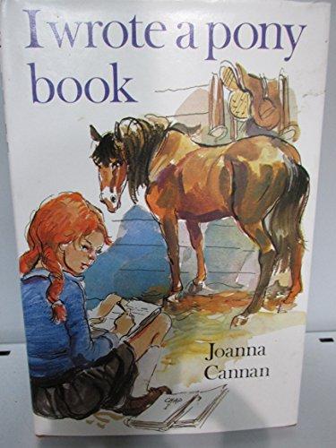 9780340196403: I Wrote a Pony Book