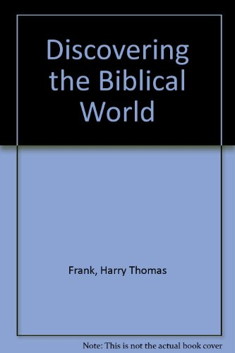 9780340200193: Discovering the Biblical World