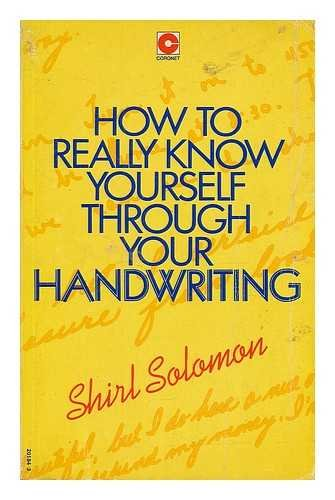 9780340201848: How to Really Know Yourself Through Your Handwriting