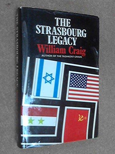 9780340207055: Strasbourg Legacy