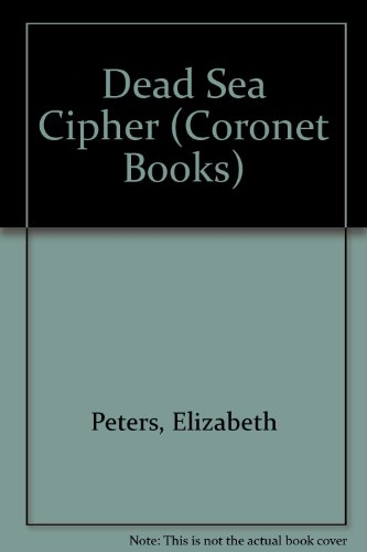 9780340207581: Dead Sea Cipher (Coronet Books)