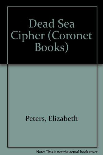 9780340207581: Dead Sea Cipher (Coronet Books)