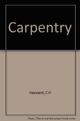 9780340214428: Carpentry