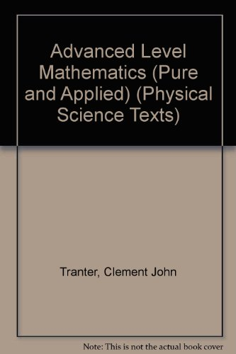 Advanced Level Mathematics (Pure and Applied) (Physical: Lambe, C.G.