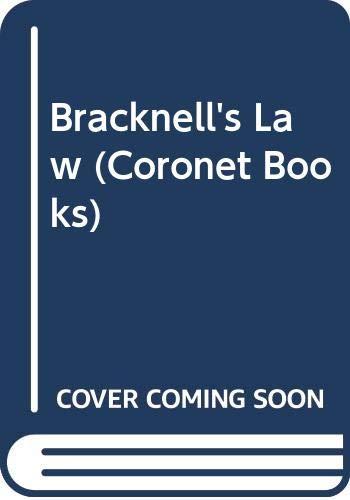 9780340220146: Bracknell's Law
