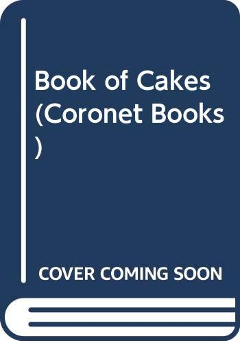 9780340221587: Book of Cakes