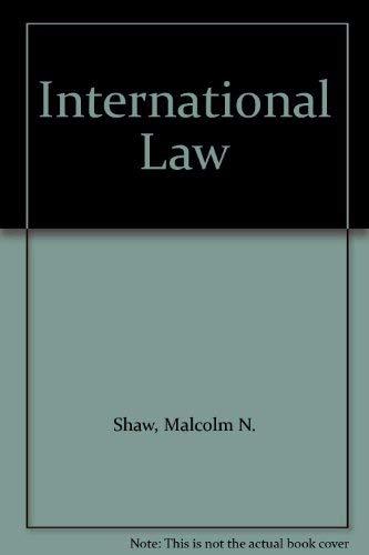 9780340222317: International Law