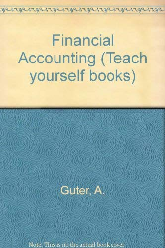9780340222553: Financial Accounting (Teach yourself books)